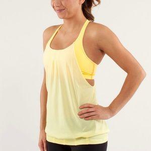 Lululemon Practice Freely bra and tank combo. 💛